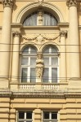 Отделка окон на фасаде