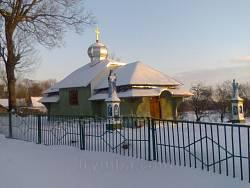Вовчківці. Церква св. Димитрія