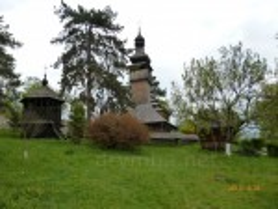 Церква св. Михаїла із с.Шелестове з дзвіницею з села Вільховатий
