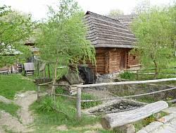 Водяний млин із села Колочава та ступа-сукновальня