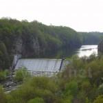Гребля на річці Тетерів
