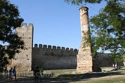 Минарет - след турецкого господства в крепости