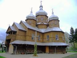 УГКЦ церква святого великомученика Георгія. Село Дуліби