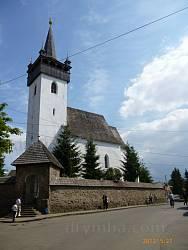 Реформатський костел св. Єлизавети у Хусті