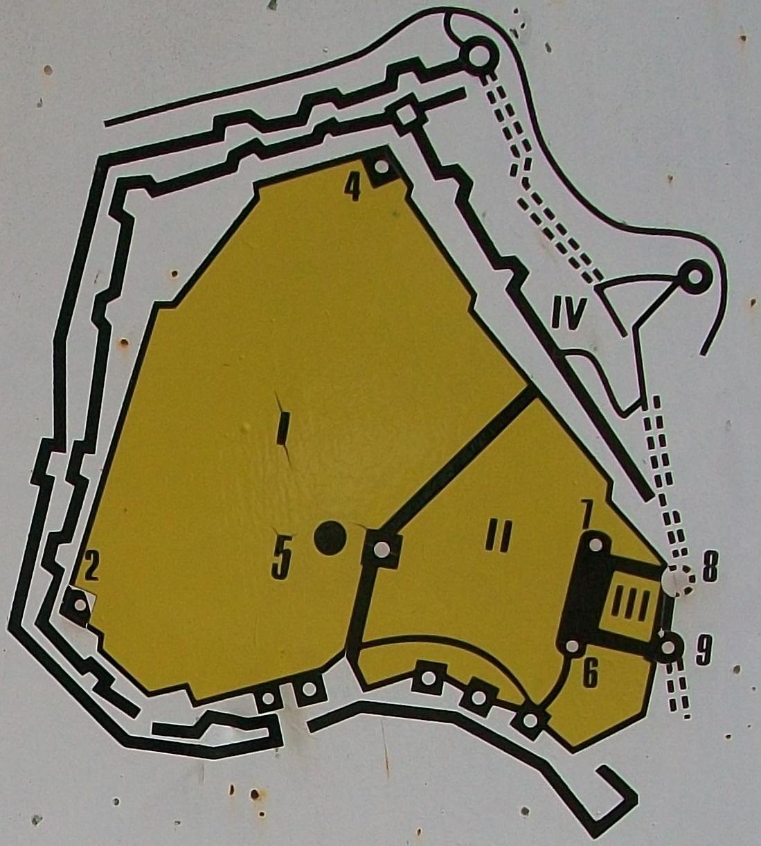 План Аккерманской крепости