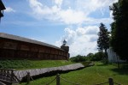 Стены Батуринской крепости