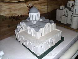 Макет-реконструкція Борисоглібського собору