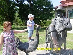 Пам'ятник барону Фальц-Фейну