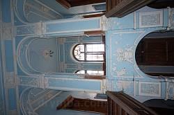 Дворец Бадени. Парадная лестница на второй этаж