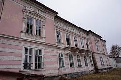 Задній фасад палацу Бадені