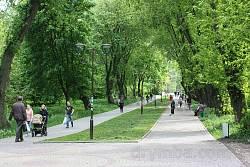 Тернопіль. Парк ім. Т.Г. Шевченка
