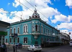 Сецесійна кам'яниця у центрі Тернополя