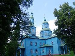 Георгіївська церква з села Андруші