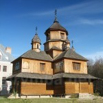 Зарваница. Деревянная монастырская церковь