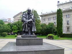 Тернополь. Памятник Т.Г.Шевченко