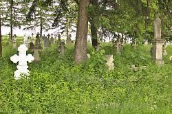 Цвинтар на східній околиці Рогатина