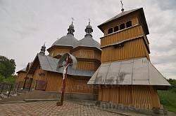 Рогатин. Дзвіниця церкви св.Миколая