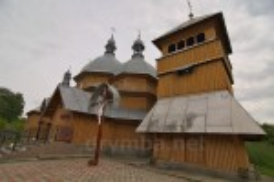 Рогатин. Колокольня церкви св.Николая