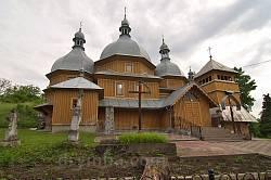 Рогатин. Комплекс Миколаївської церкви