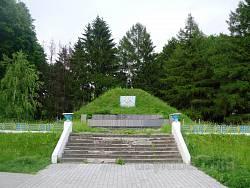 Символічна могила Борцям за волю України у Настасові