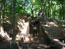Раскопки на Плиснеском городище