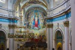 Домініканський костел у Тернополі. Вид з хорів