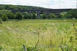 Новоград-Волынский. Старый каменный железнодорожный мост