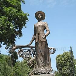 Пам'ятник Соломії Крушельницькій