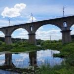 Железнодорожный мост с пулеметным капониром