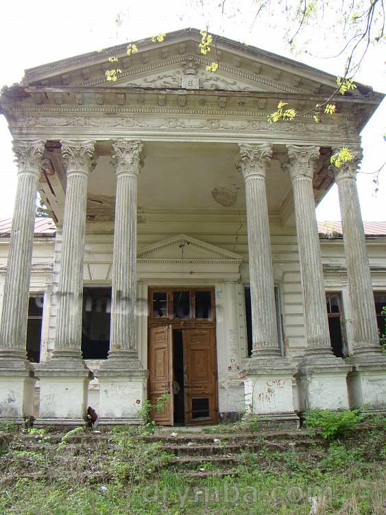 Палац Корницьких. Портал