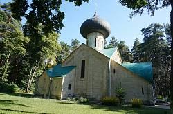 Бічний фасад церкви Преображення Господнього