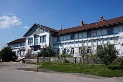 Пархомівка. Будинок, у якому жила сім'я К. Малевича