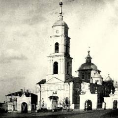 Трипрестольна церква Різдва Пресвятої Богородиці  (Знищена)