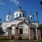 Пархомовка. Покровская церковь