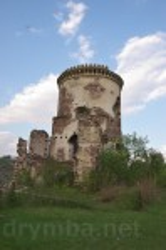 Північна вежа з залишками палацу
