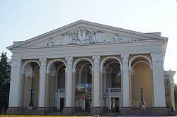 Драмтеатр в Полтаве