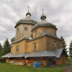Церква св.Миколая у селі Потік Рогатинського району