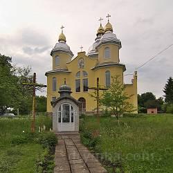 Черче. Часовня и новая каменная церковь св.Василия