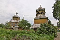 Село Черче. Церковь св.Василия с колокольней (19 ст.)
