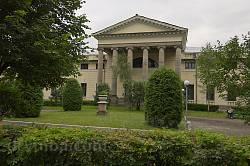 Палац княгині Щербатової. Задній портик