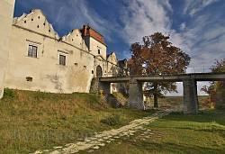 Фасад Свірзького замку