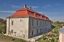 Золочівський замок. Королівський палац