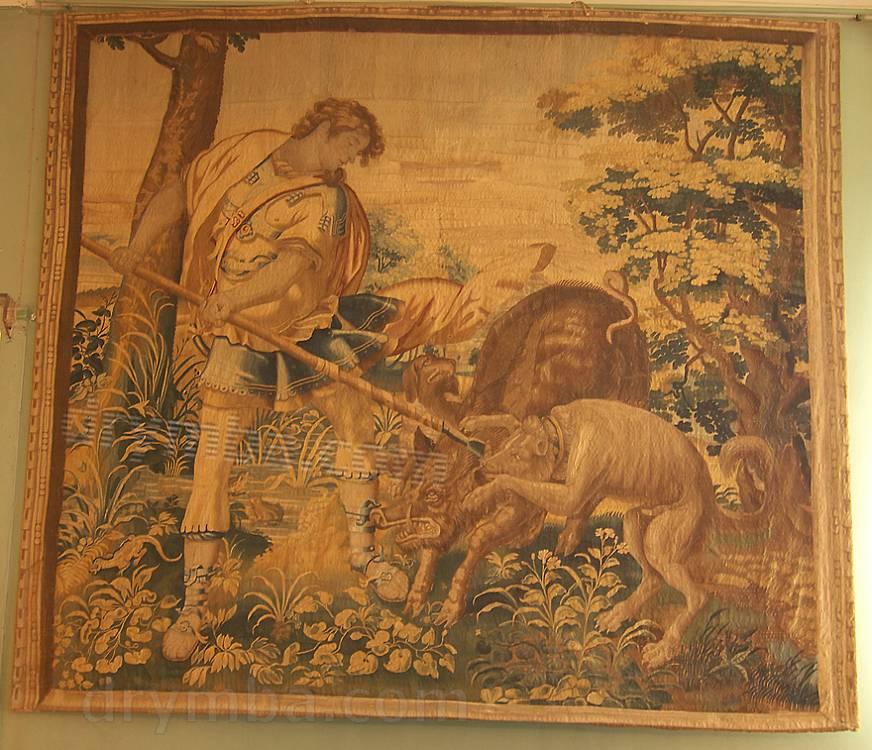 """Гобелен """"Одиссей на охоте"""""""