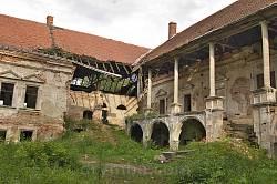 Руйнування Поморянського замку. 2012 рік