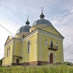 Поморяни. Церква св.Петра і Павла