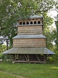 Дзвіниця церкви Собору Богородиці у Поморянах