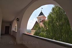 Мукачівський замок. Вид на годинникову вежу