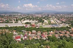 Краєвид з Мукачівського замку 1
