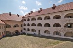 "Замок ""Паланок"". Двор и галереи Среднего замка"