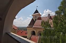 Мукачівський замок. Вид з верхньої галереї